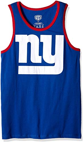 - NFL New York Giants Male NFL OTS Cotton Tank Distressed, Royal, XX-Large