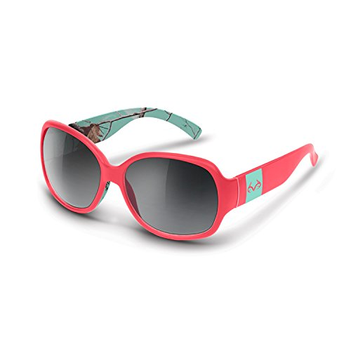 RealTree Draw AP Sunglasses (Coral and Cool Mint with Shadow - Sunglasses Coral