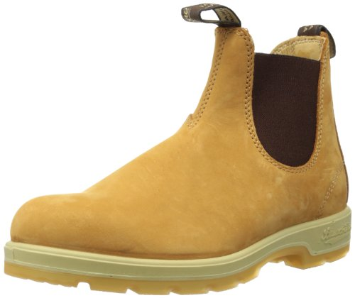 Blundstone 1318 wheat nubuck/elastic brown
