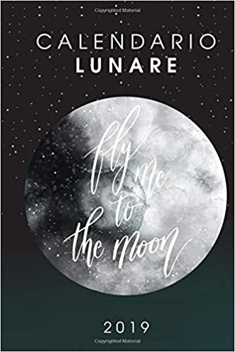 Calendario Lunare Della Salute E Della Bellezza.Amazon It Calendario Lunare 2019 Diario Organizer E Agenda