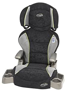 Evenflo Big Kid Booster Car Seat - Mercury (Discontinued by Manufacturer) (Discontinued by Manufacturer)