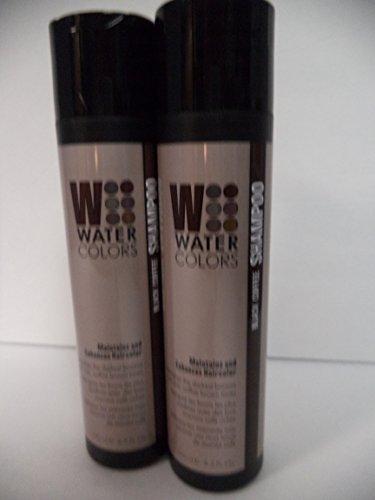 TRESSA Watercolors Black Coffee Shampoo Duo Set 8.5 oz NE...