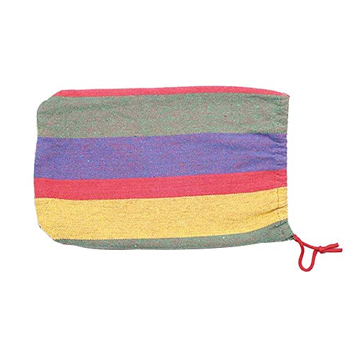 Others SQ-061 Portable Hammock Camping Hammock for Backpacking Garden, Backyard,Hiking &Traveling - Multicolors, Large        Amazon imported products in Lahore