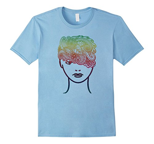 Xl Ladies Baby Doll T-Shirt - 9