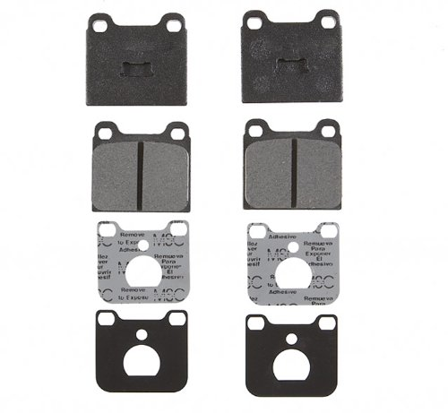 (ACDelco 17D96M Professional Semi-Metallic Front Disc Brake Pad Set)