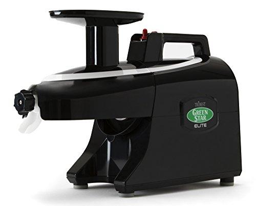 Tribest Greenstar Elite GSE5010 Noir - Extracteur De Jus Horizontal