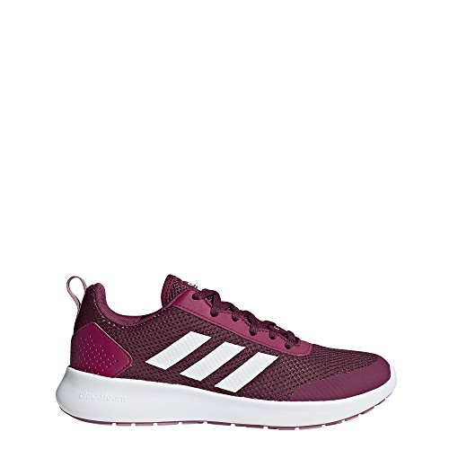 adidas Women's Element Race Running Shoe, Mystery Ruby/White/Trace Maroon, 8 M US