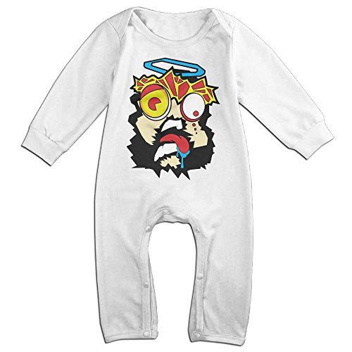 [Vinda Cute Hova Holla Bodysuit For Toddler White Size 12 Months] (Trick Or Treat Costumes Images)