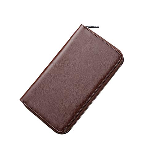 Oucan Men Anti-Magnetic Multi-Card Large Capacity Organ Card Package Wallet