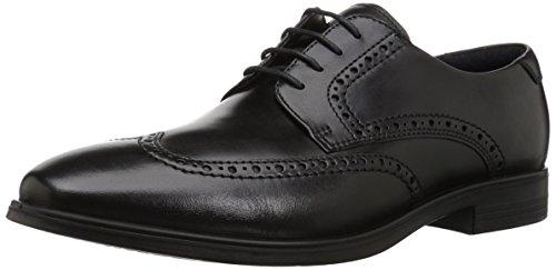 Men Shoes Dress Tie (ECCO Men's Melbourne Wingtip Tie Oxford, Black, 41 M EU (7-7.5 US))