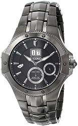 Seiko Men's SNP071 Analog Display Japanese Quartz Silver Watch