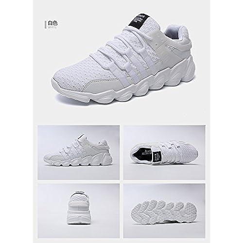 4fef93bf450 Mengxx Zapatos Para Correr EN Montaña y Asfalto Aire Libre y Deportes  Zapatillas de Running Padel