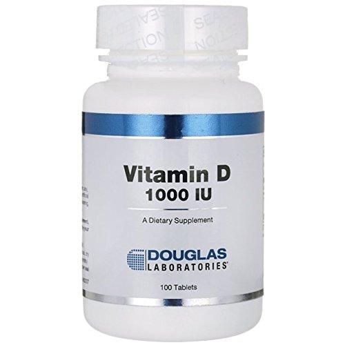 Douglas Laboratories, Vitamin D, 1000 IU, 100 Tablets B0014AHLZW