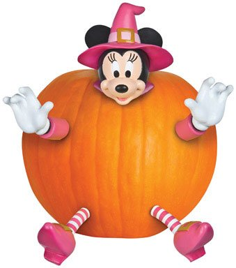 Gemmy Pumpkin Push In Minnie Mouse