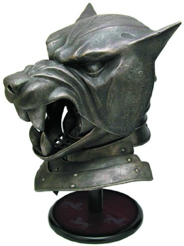 The Hound's Helm Game of Thrones Licensed Collectible by Dark Horse Comics