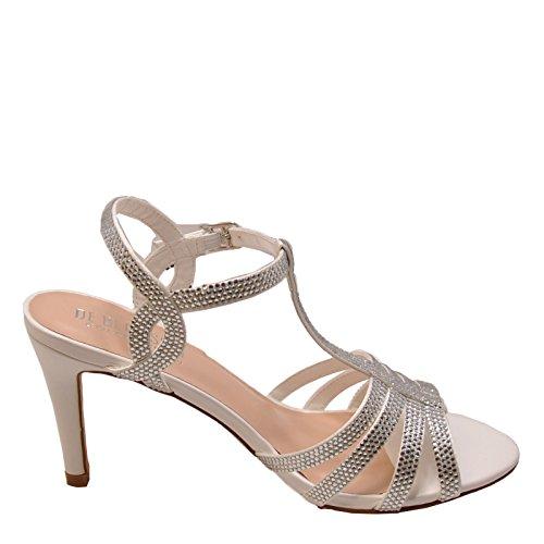 Blossom Rita 3X Womens Embellished Formal Heels Ivory