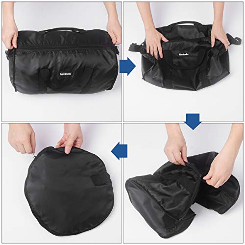 Foldable Lightweight Travel Duffle Bag, Kemladio Water Rresistant Packable Bag Luggage by Kemladio (Image #3)