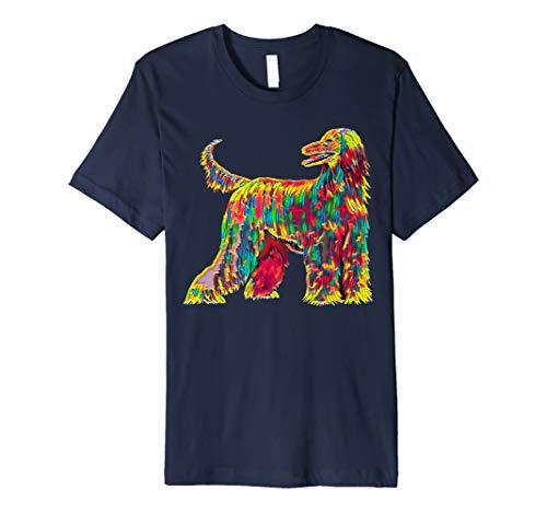 Afghan Hound Dog Premium T-Shirt