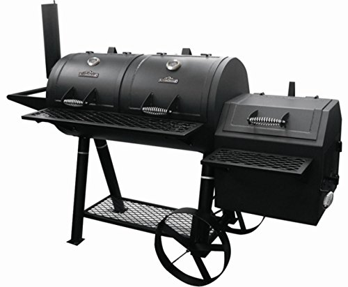 RiverGrille SC2162901-RG Rancher's Grill, Black