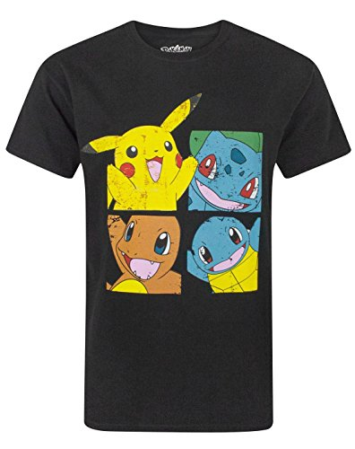 Pokemon Starters Distressed Men's T-Shirt