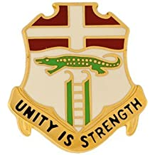 6th Infantry Unit Crest (Unity Is Strength)