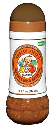 Angelo Pietro Dressing, Sesame and Miso, 9.3-Ounce (Best Asian Salad Dressing)