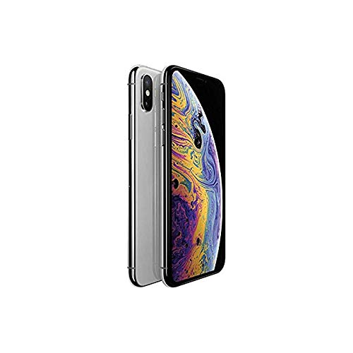 fbf80095e3e3d Apple iPhone Xs MAX 256GB Fully Unlocked - Silver (Renewed)