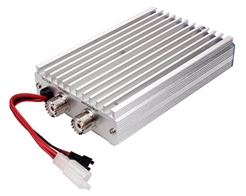 Zowaysoon 45W HF Power Amplifier for QRP Radio FT-817 IC-703 KX3 Enhancing Transmission Power (with Welded FT-817complete cable)