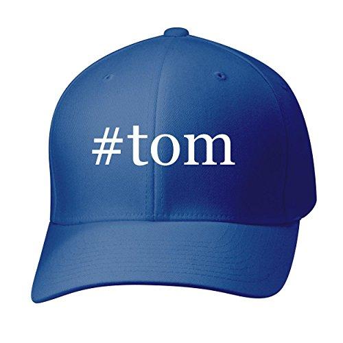 BH Cool Designs #Tom - Baseball Hat Cap Adult, Blue, Large/X-Large
