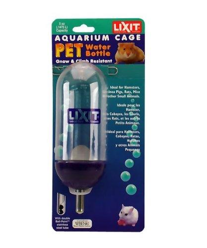 5 Ounce Aquarium Bottle (Lixit Aquarium Cage Bottle (5 oz))