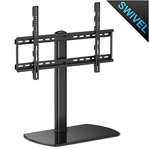 Fenge Swivel Universal TV Stand/Base Tabletop TV Stand with mount for 32 to 65 inch Flat screen Tvs/xbox One/tv Component /Vizio Tv