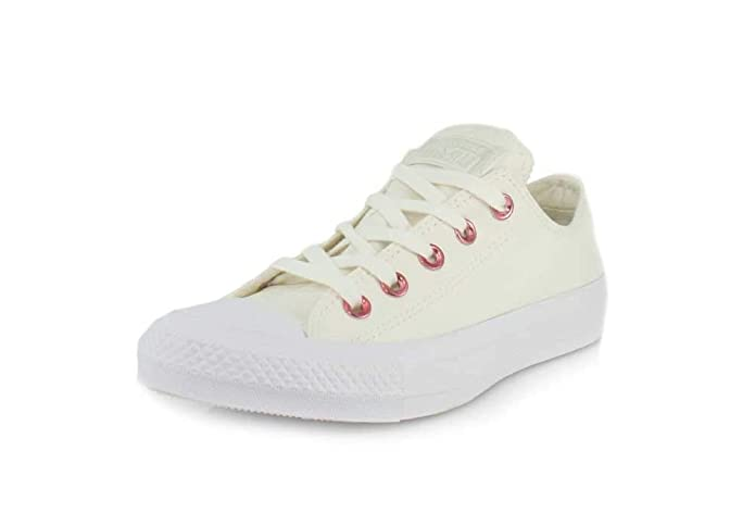 Converse Chucks Chuck Taylor All Star Low Top Ox Sneakers Unisex Weiß