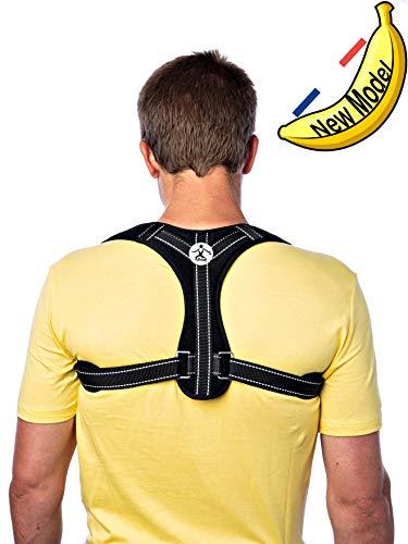 posture corrector, back brace, posture trainer, back support posture corrector, back support brace, thoracic back support, back straightener, clavicle support brace, shoulder and back pain, unisex fda ()