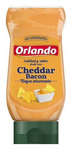 Orlando, Salsa Cheedar Bacon, Saus met cheddar en ham, 245 g