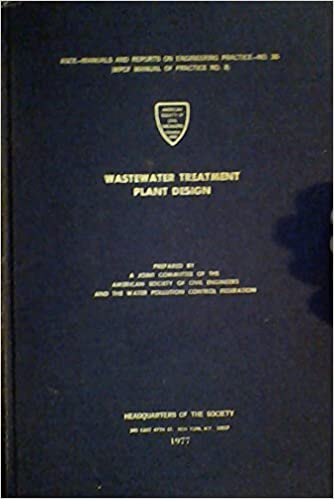 Wastewater Treatment Plant Design (ASCE - Manuals and