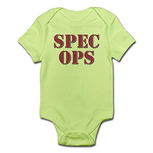 CafePress Spec Ops Body Suit - Cute Infant Bodysuit Baby - Cute Specs With Baby
