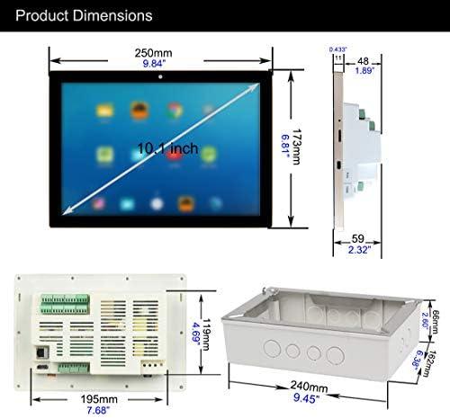 HELMER en Pared Amplificador Bluetooth con WiFi, Multi-Room Sistema de Audio estéreo Android con 10
