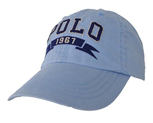 Ralph Lauren - Gorra de béisbol - para Hombre Azul Hellblau Washed Talla única