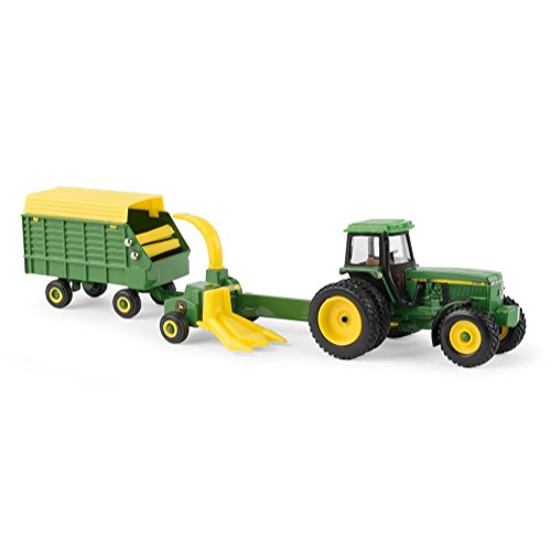 (John Deere 1/64 Scale 4960 Tractor with Forage Harvester & Wagon - LP67313)
