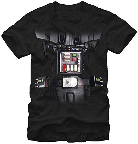 Darth Vader Costumes T-shirt (Star Wars- Darth Vader Costume Tee T-Shirt Size XL)