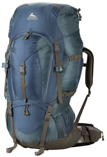Gregory Deva 85 Backpacking Pack (Calistoga Blue,Small), Outdoor Stuffs