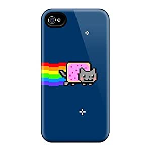 Brand New 4/4s Defender Case For Iphone (nyan Cat)