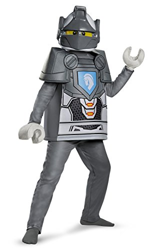 Home Depot Halloween Costumes (Lance Deluxe Nexo Knights LEGO Costume, Small/4-6)