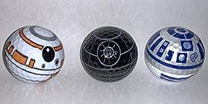 BB8 Death Star R2D2 Golf Ball 3 pack