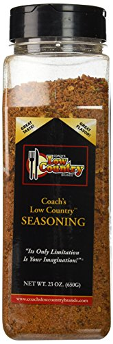 Coach's Low Country Seasoning Net Wt 23 Oz.