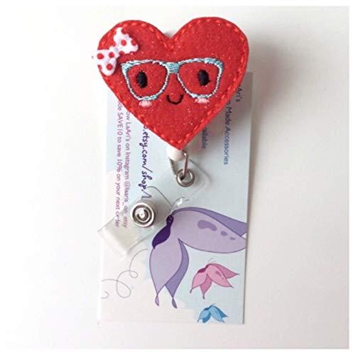 Badge Holder Valentine\u2019s LOVE Badge Reel ID Holder