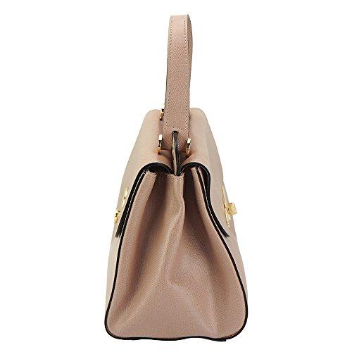 Leather 306 En Rosita Rosado Bolso De Market Cuero Mano Florence Hecho zZdwUFFq0