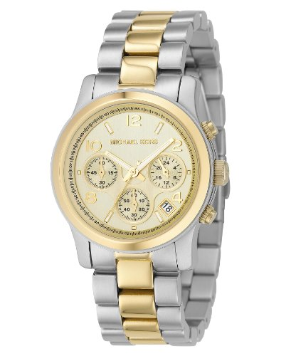 Michael Kors Women's Quartz Stainless Steel Dress Watch, Color:Silver-Toned (Model: MK5137 (Cyber Monday Sales On Michael Kors Watches)