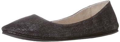 French Sole FS/NY Women's Sloop Disco Flat,Black,10 M US