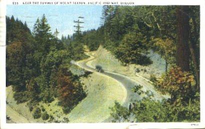 Pacific Highway, Oregon Postcard